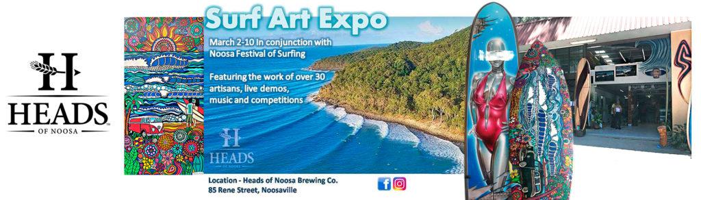 2019 Surf Art Expo | Noosa Festival of Surfing 2019
